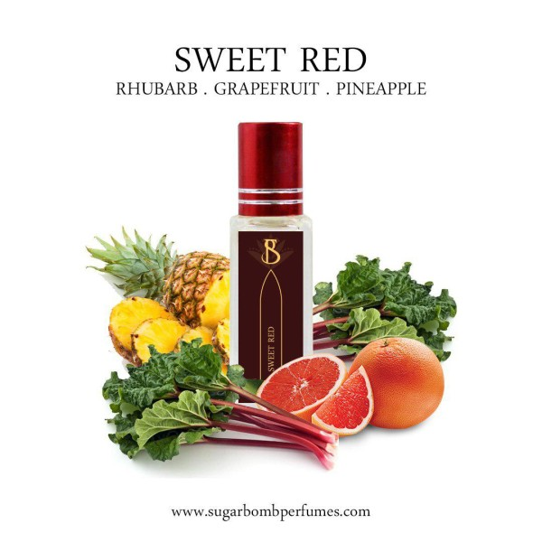 Sweet Red  EDP 8 ml   - Sugarbomb Perfumes