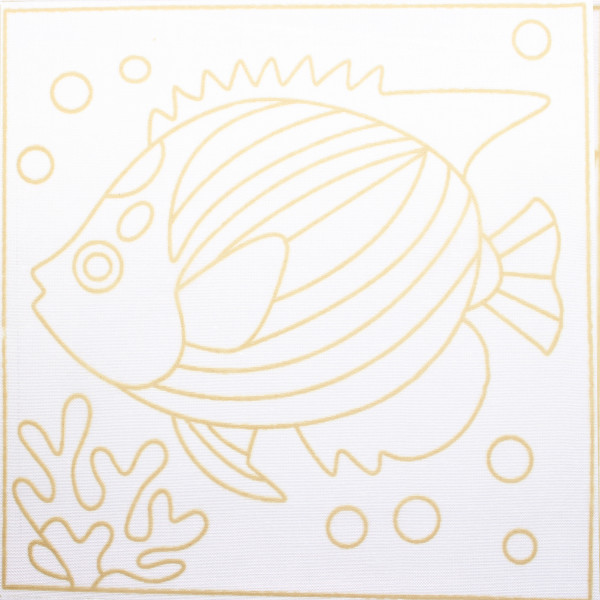 Batik Painting Set - Fish (110) - Kidcited Learning Store