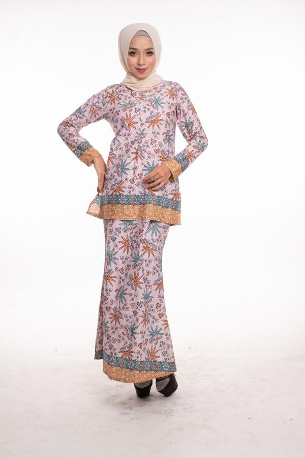 Callia Cotton Kurung - Haura Wear