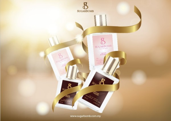 5 unit of Sugarbomb Perfumes (Limited to First 100 Customers) - Sugarbomb Perfumes