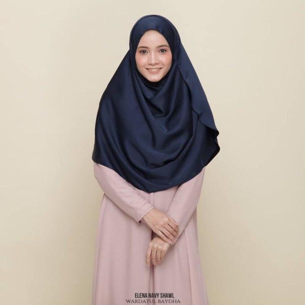 ELENA BASIC SHAWL AS-IS - Wardatul Baydha Hijab