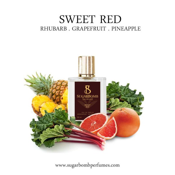 Sweet Red  EDP 30 ml   - Sugarbomb Perfumes