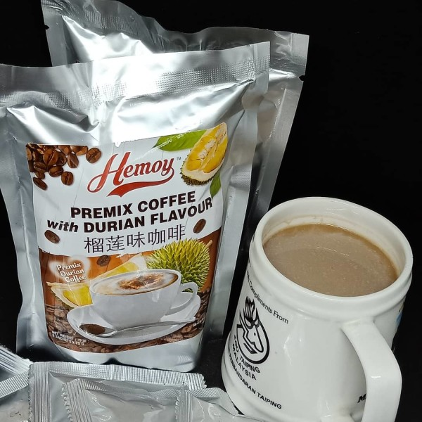 PREMIX COFFEE with  DURIAN FLAVOUR 咖啡榴莲 - doubletraders