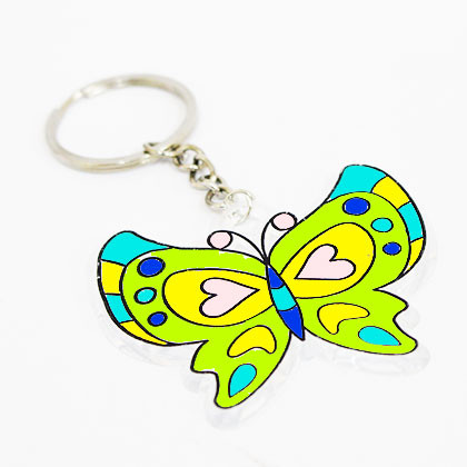 Suncatcher Keychain - Dancing Moth - Kidcited Learning Store