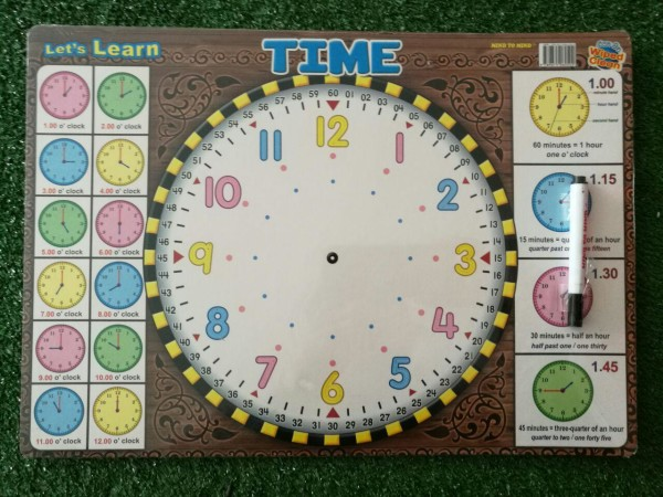 Let's Write Time Board  - Kidcited Learning Store