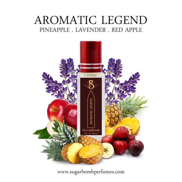 Aromatic Legend EDP 8 ml   - Sugarbomb Perfumes