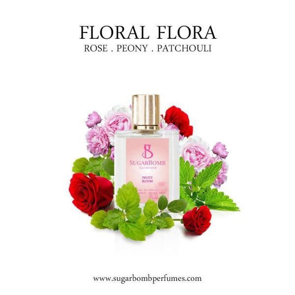 Floral Flora EDP 30 ml  - Sugarbomb Perfumes