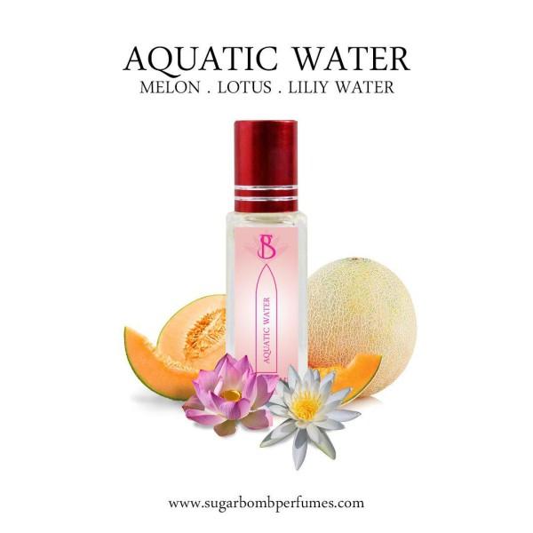 Aquatic Water EDP 8 ml  - Sugarbomb Perfumes