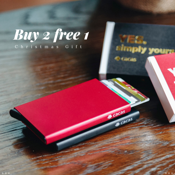 Cacas Simple Wallet Buy 2 Free 1 Promotion ( RM118 for 3 wallet) - Simple Series