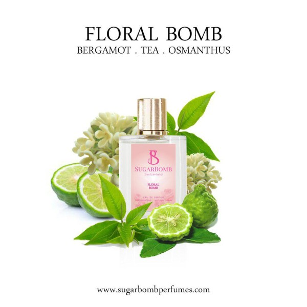 Floral Bomb EDP 30 ml   - Sugarbomb Perfumes