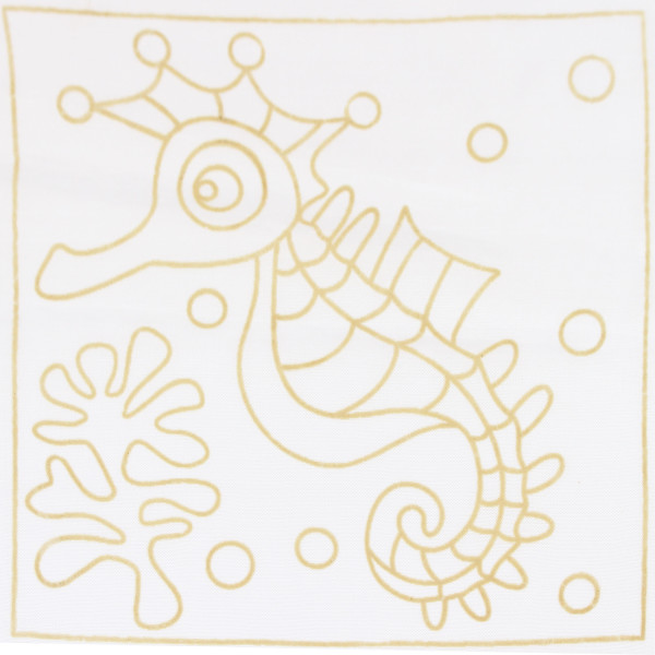 Batik Painting Set - Seahorse (118)  - Kidcited Learning Store
