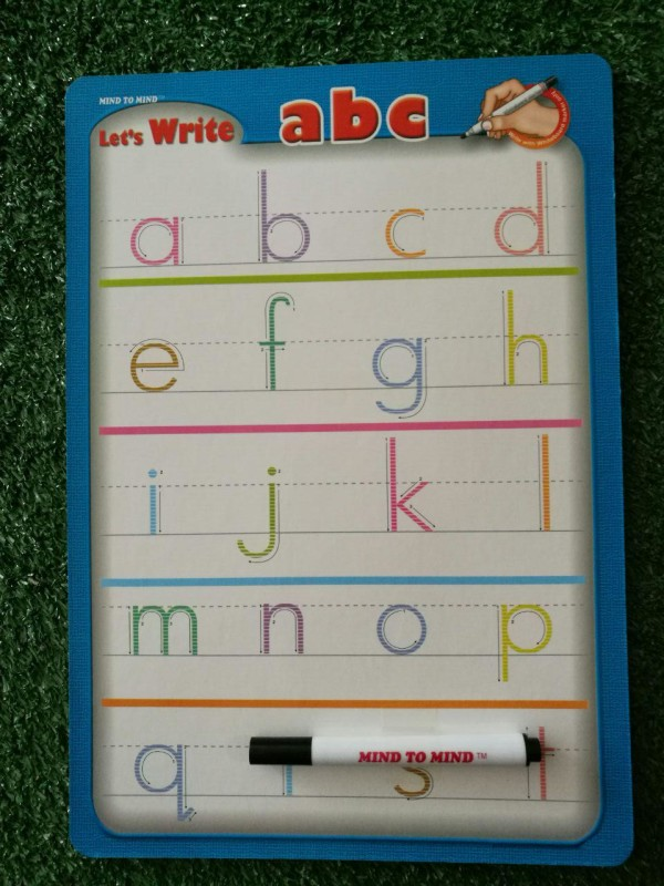 Let's Write abc Mini Board (Lowercase) - Kidcited Learning Store