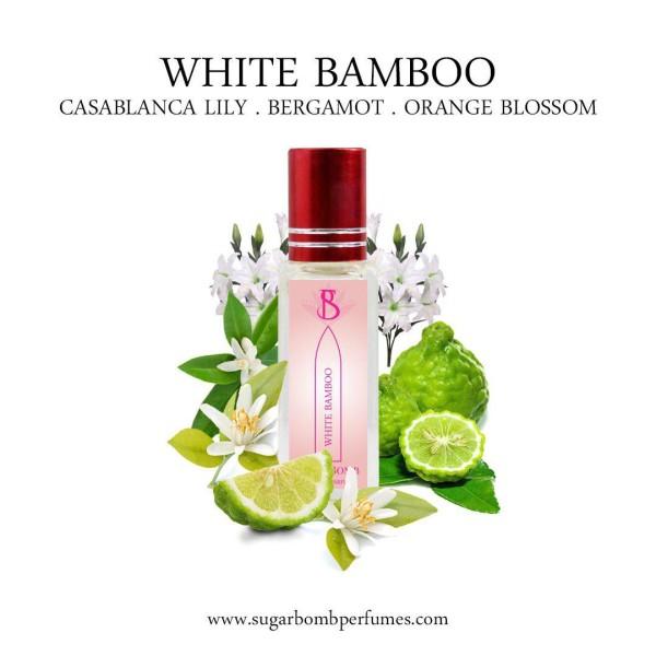 White Bamboo EDP 8 ml  - Sugarbomb Perfumes