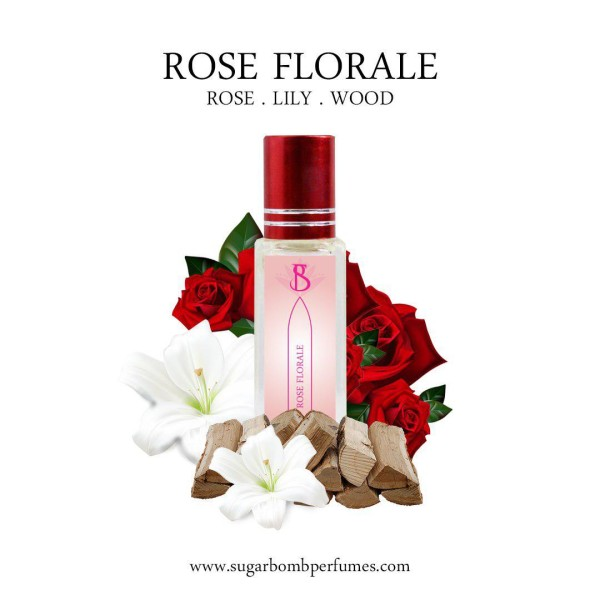 Rose Florale EDP 8 ml  - Sugarbomb Perfumes