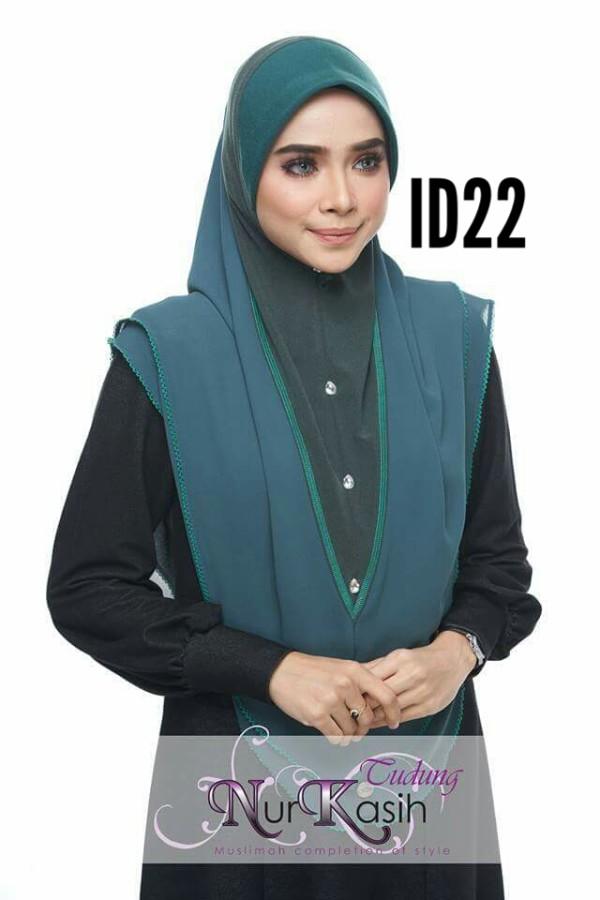 IRDINA XL Teal green - Zahusna