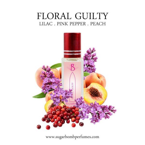 Floral Guilty EDP 8 ml   - Sugarbomb Perfumes
