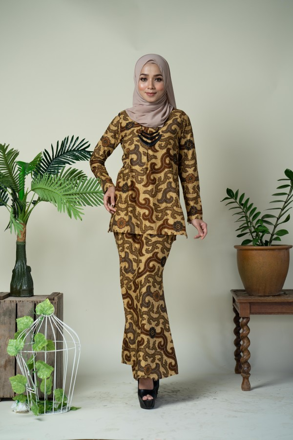 Callia Cotton Kurung - Haura Wear