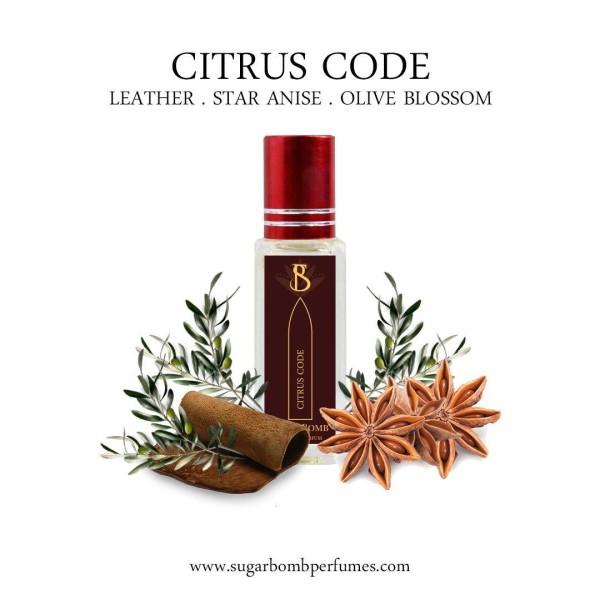 Citrus Code EDP 8 ml   - Sugarbomb Perfumes