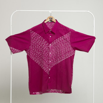 Basic Demure Top (M) - BUJINS Batik