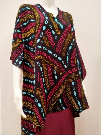 Ladies Cotton Binary Kaftan - Free Size