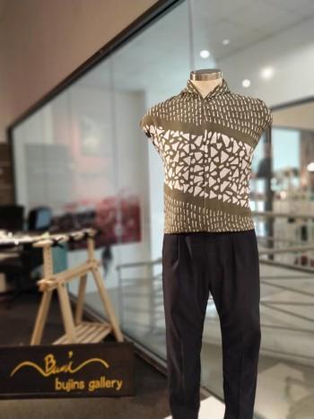 Bujins Cotton Batik Mix Jalinan Design Fabric - 4.25M