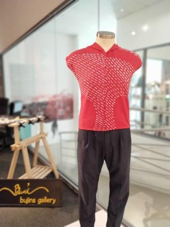 Bujins Cotton Batik Mix Jalinan Design Fabric - 2.3M
