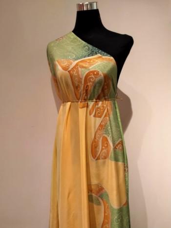 Cik Siti Wan Kembang (Series II) Crepe Fabric 4.5M - BUJINS Batik