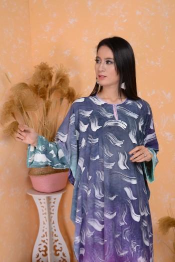 Bujins Basic Cotton Kaftan Batik - Free Size