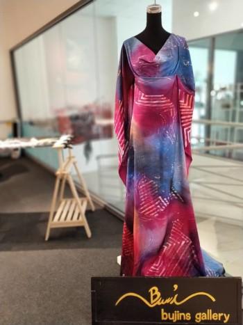 Bujins Cotton Batik Mix Jalinan Design Fabric - 2.45M