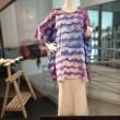 Ladies Kaftan Cotton Batik Sentuhan Kasih Design - Free Size - BUJINS Batik