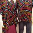 Ladies Cotton Binary Kaftan - Free Size - BUJINS Batik