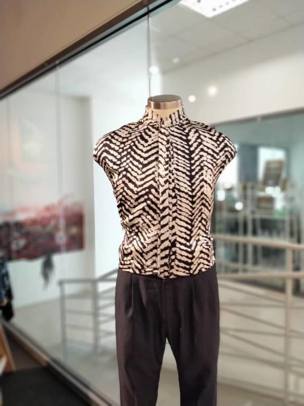Premium Satin Batik Dragon Scales Fabric - 2.6M - BUJINS Batik