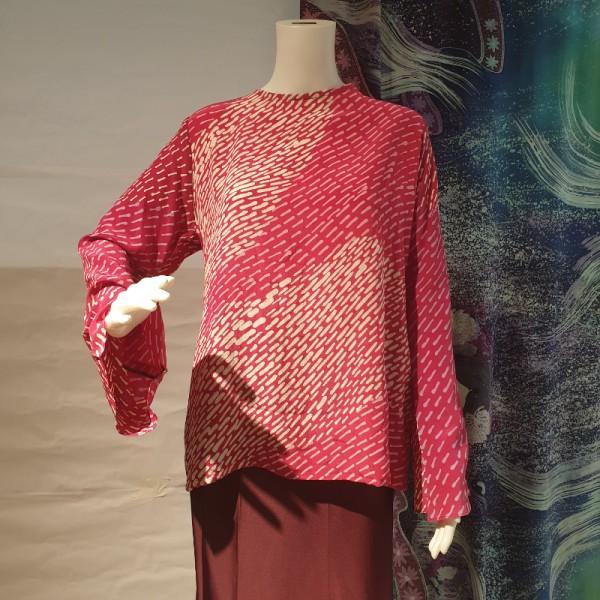 Basic Demure Top - BUJINS Batik