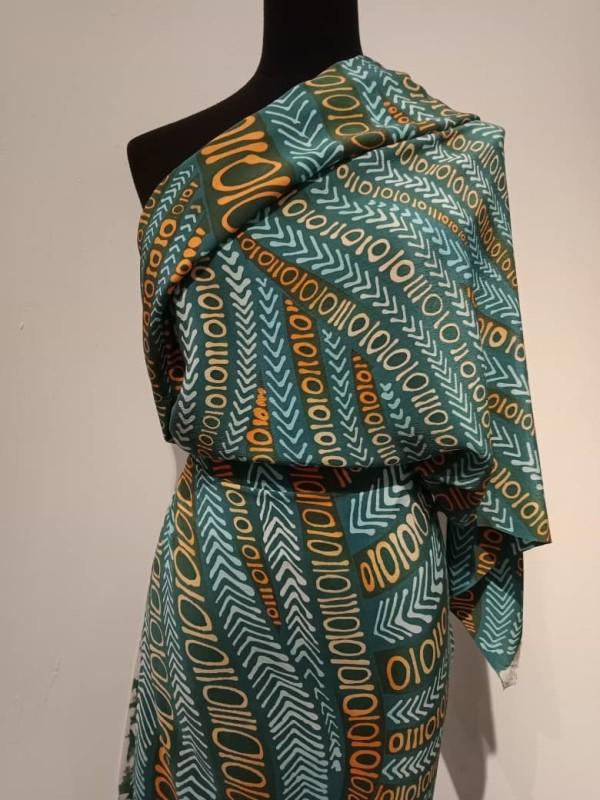 Premium Binary Crepe Fabric 2.6M - BUJINS Batik