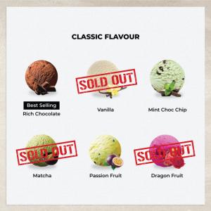 Ice Cream Pint - 450ml - Merry Ice Cream