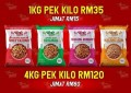 Kacang Wany(Pek 1kg) COMBO 4 in 1 - Order JER