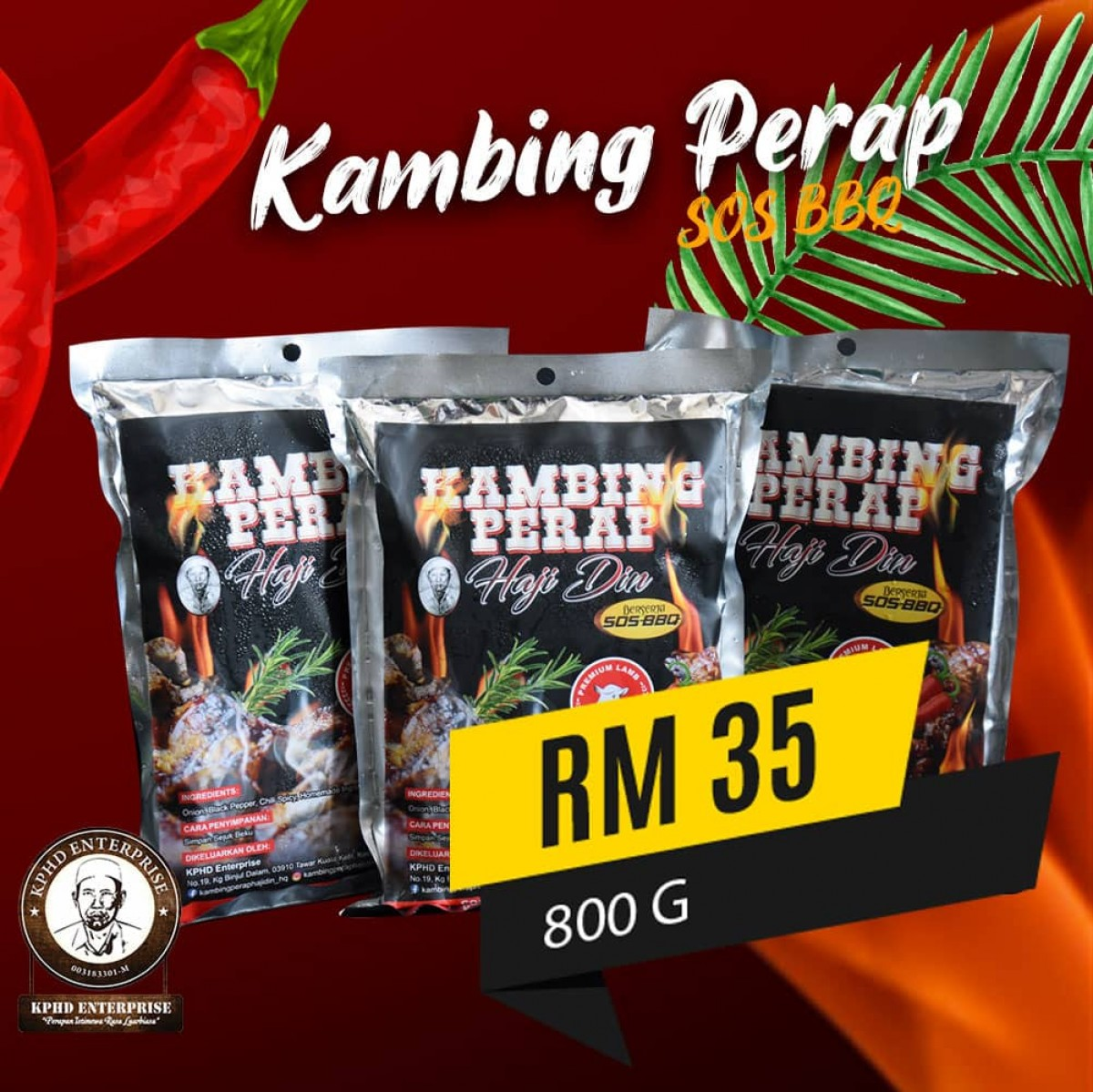 KAMBING PERAP - Order JER
