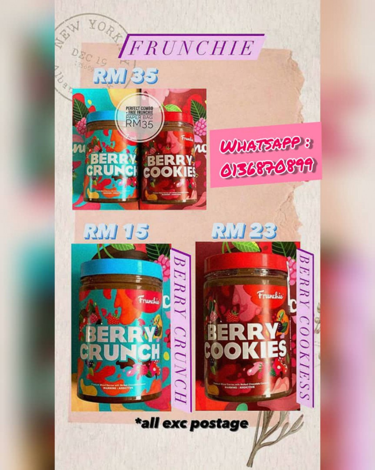 [Preorder] Berry Crunch - Order JER