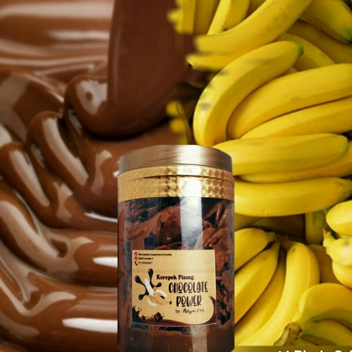 [PreOrder] KEREPEK PISANG CHOCOLATE POWER - Order JER