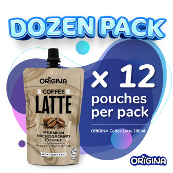 ORIGINA COFFE LATTE 200ml - (12 pcs/ packs)