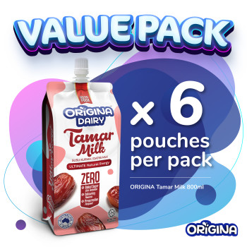 (PRE-ORDER) ORIGINA TAMAR MILK 800ml (6 pcs/ packs)