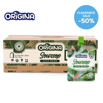 ORIGINA SOURSOP JUICE 220ML (25 PCS/CTN)
