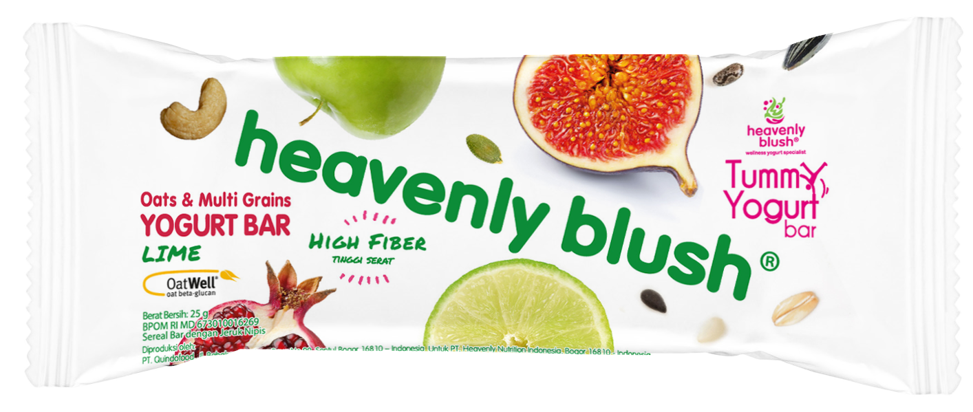 Heavenly Blush Tummy Yogurt Bar Lime