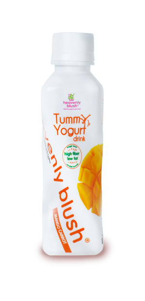 Heavenly Blush Tummy Yogurt Drink Mango Carrot