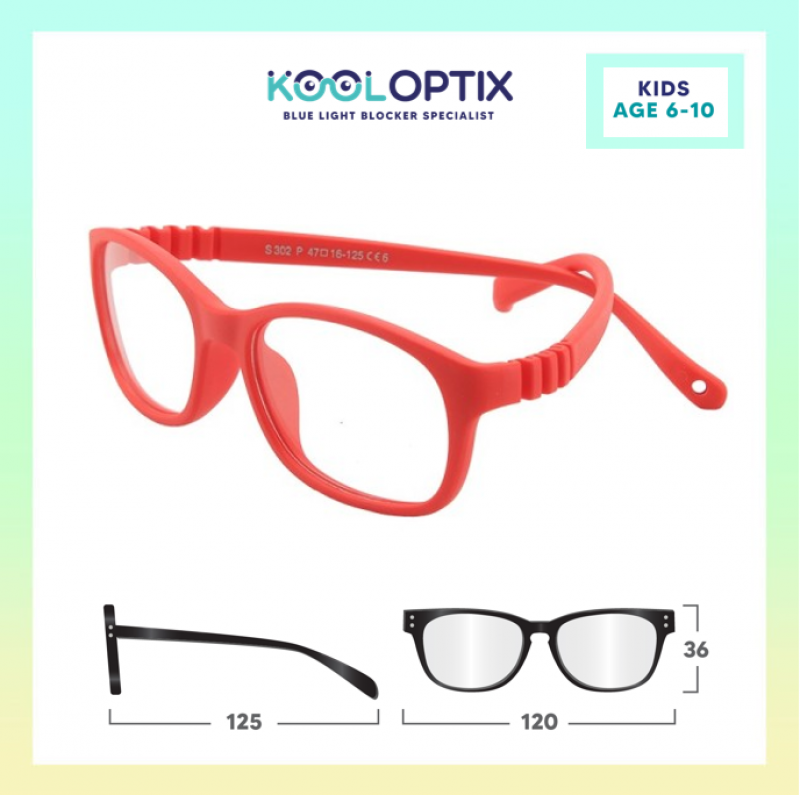 Kids Flexi - Hot Red
