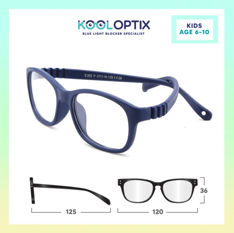 Kids Flexi - Navy Blue