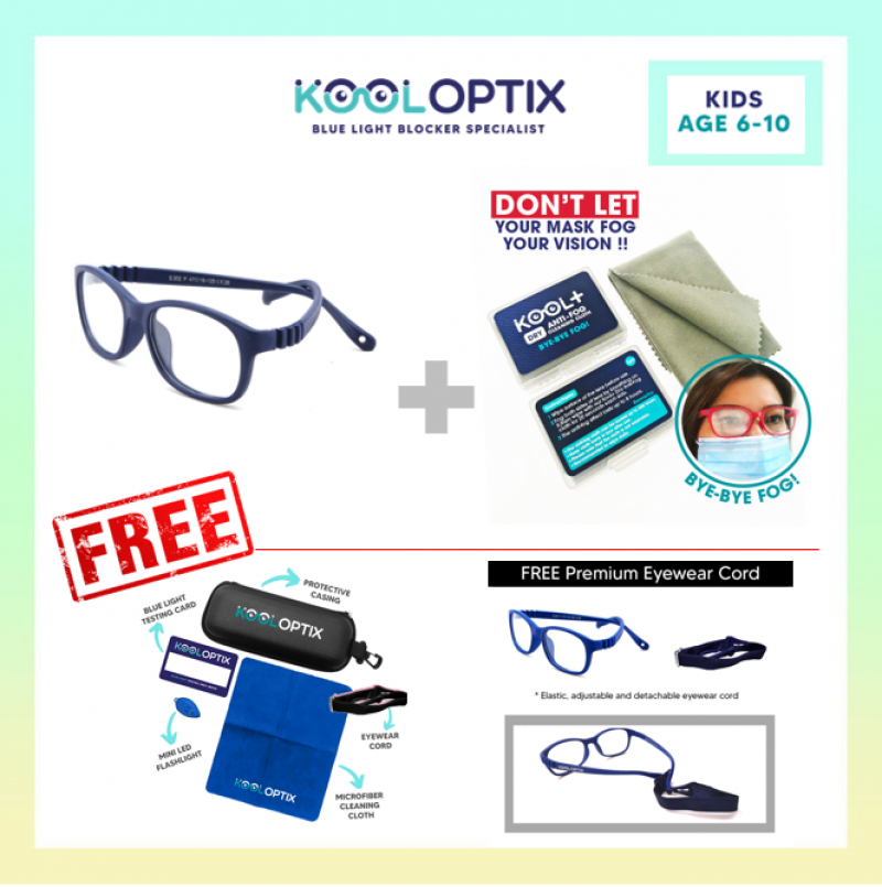 Bundle Kids Flexi - Navy Blue + Antifog