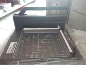 Origin Paper Cutter F4R Dark Grey - Alat Potong Kertas Ukuran F4 - Toko Online Mesin Jilid, Laminating, Pemotong kertas