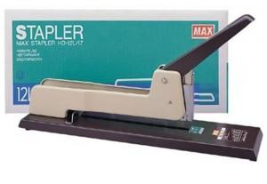 Stapler Max HD-12L/17 [Staples Jilid kapasitas 30-160 lembar] - Toko Online Mesin Jilid, Laminating, Pemotong kertas