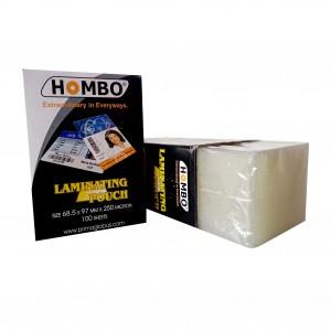 Hombo Plastik Laminating KTP - 250 Micron - Toko Online Mesin Jilid, Laminating, Pemotong kertas
